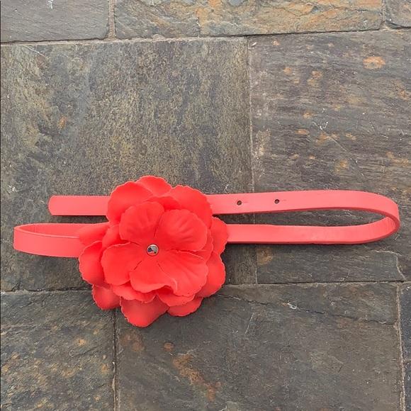 Other - Toddler Girls Adjustable Belt with Flower